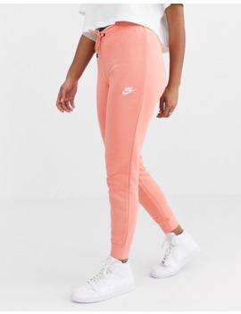 Nike Essentials Pink Slim Joggers by Nike