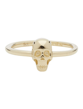Gold Baby Skull Ring by Stolen Girlfriends Club