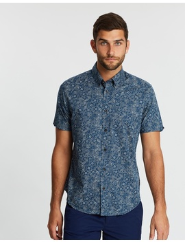 Short Sleeve Retro Floral Shirt by Ben Sherman