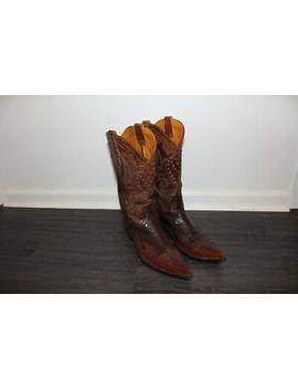 Old Gringo Mens Premium Embroidered Cowboy Vintage Boots Size 11 D by Old Gringo