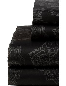 Midnight Ink | King Sheet Set by Sin In Linen