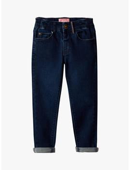 Little Joule Girls' Linnet Indigo Jeans, Navy by Joules