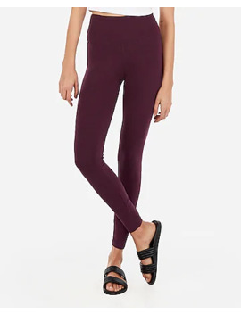 High Waisted Slimming Leggings by Express