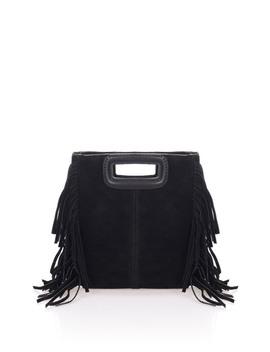 Suede Fringe Crossbody Bag by Lisa Minardi