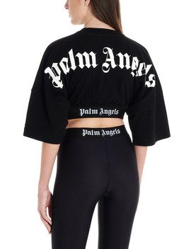 Cropped T Shirt by Palm Angels