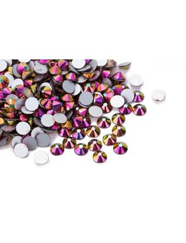 High Quality Crystal Rainbow Dark Colorful Rhinestones Loose Flat Back No Hot Fix Bead Size Ss 10/ Ss 12/ Ss14 / Ss16 / Ss20 / Ss30 / Ss34 by Etsy