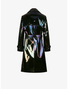 Trench In Iridescent Leather by Givenchy