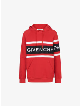 Hoodie With Contrasting Stripes by Givenchy