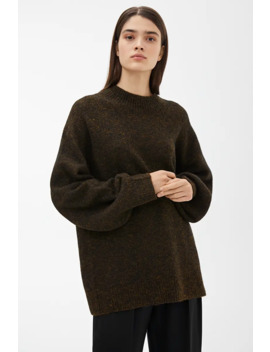 Oversized Glittery Jumper by Arket
