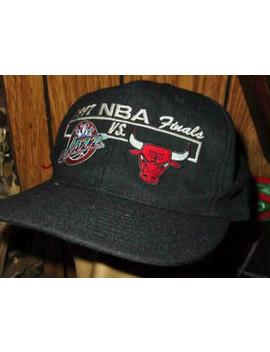 1997 Nba Finals Cap   Snapback Jazz Vs. Bulls Cap Championship Hat   Basketball by Unbranded