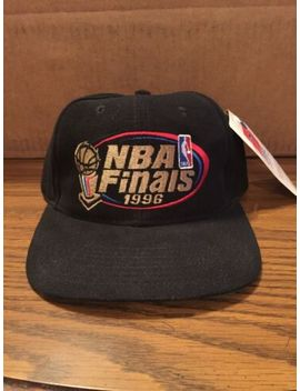 1996 Nba Finals Snapback Hat Cap New With Tags Nwt Chicago Bulls Jordan Seattle by Sports Specialties