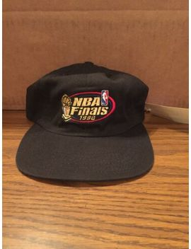 1998 Nba Finals Strapback Hat Cap New With Tags Nwt Chicago Bulls Jordan Utah by American Needle