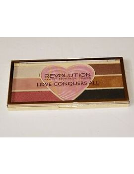 Makeup Revolution Love Conquers All Eye Shadow Highlighter Palette Powder Bake by Makeup Revolution