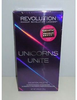 *Makeup Revolution ♡ Unicorns Unite Eye Shadow Palette Powder Pigment Color New by Makeup Revolution