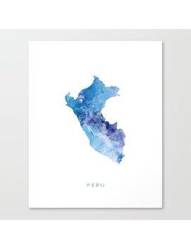 Peru Canvas Print by Society6