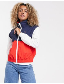 Tommy Jeans Colourblock Wind Jacket by Tommy Jeans Capsule
