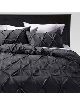 Pinched Pleat Comforter Set   Threshold™ by Shop Collections