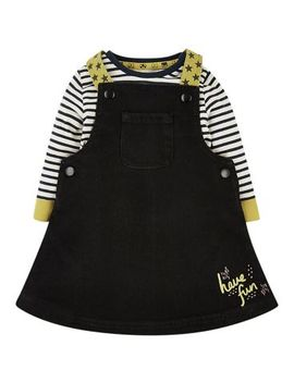 Mini Club Denim Pinny by Mothercare