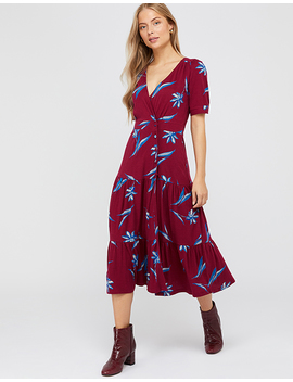 Billie Printed Tiered Jersey Dress by Monsoon