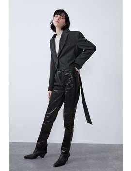 Jeans Denim Wide Leg Brillo by Zara