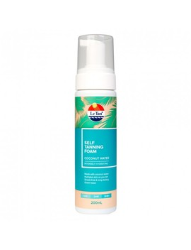 Coconut Water Self Tanning Foam 200 M L by Le Tan