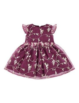 Mini Club All Dressed Up Embroidery Dress by Mothercare
