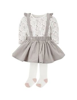 Mini Club Heritage Pinny Set by Mothercare