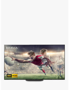 """Sony Bravia Kd55 Ag9 (2019) Oled Hdr 4 K Ultra Hd Smart Android Tv, 55"""" With Freeview Hd, Youview, & Acoustic Surface Audio+, Black by Sony"""