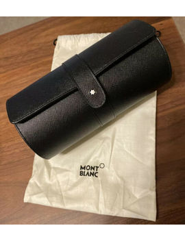 Montblanc Sartorial Double Travel Watch Pouch Roll Case Bag Box by Montblanc
