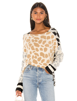 Keegan Pullover In Multi Spot by Central Park West