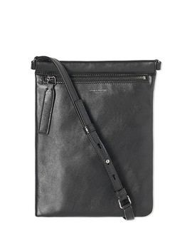 Saint Laurent Leather Zip Shoulder Bag by Saint Laurent