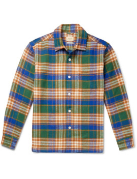Goney Checked Cotton Flannel Shirt by Bellerose