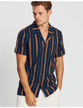 Banks Retro Stripe Ss Shirt by Staple Superior