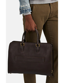 Leather Briefcase by Boldrini Selleria