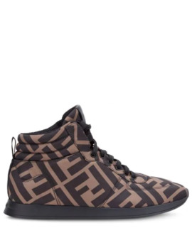 Monogram High Top Sneakers by Fendi