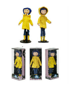 7 Inch Coraline Bendy Fashion Doll In Raincoat And Boots Caroline Figure by Ebay Seller