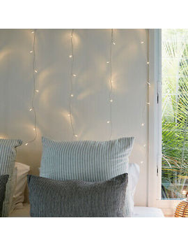 <Span><Span>1m X 1m Indoor Curtain Fairy Lights Clear Cable 40 Warm White Le Ds By Lights4fun</Span></Span> by Ebay Seller