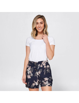 Viscose Shorts   Navy Floral by Target