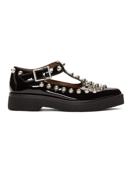 Black 'the Mary Jane' Loafers by Marc Jacobs