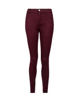 Red 'Frankie' Super Soft Skinny Jeans by Dorothy Perkins