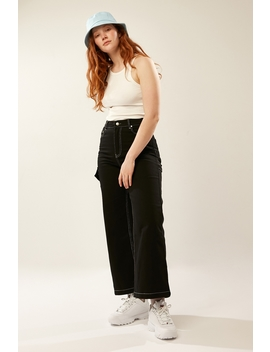 Illusion Contrast Pant Black by L&T
