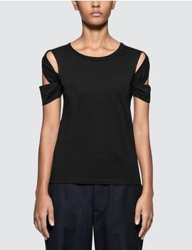 Bondage Short Sleeve T Shirt by Helmut Lang