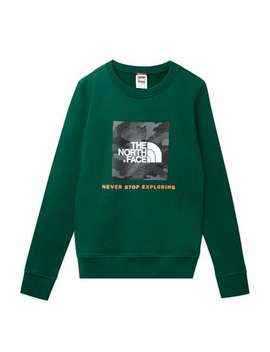 Box Drew Peak Sweat   Green by The North Face