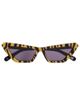 Tiger Print Cat Eye Sunglasses by Chimi