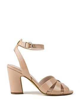 Sublime85 Angled Heel Sandal by Edward Meller