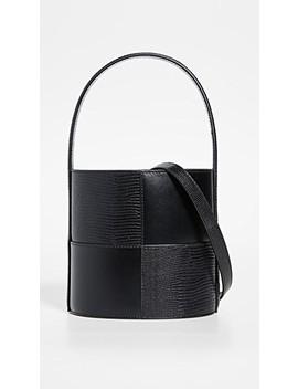 Patchwork Bissett Bag by Staud