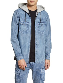 X Justin Timberlake Hooded Zip Up Western Shirt by Levi's®