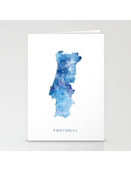 Portugal Stationery Cards by Society6