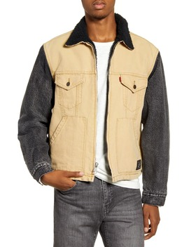 X Justin Timberlake Hybrid Fleece Lined Trucker Jacket by Levi's®