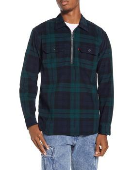 X Justin Timberlake Half Zip Corduroy Popover Shirt by Levi's®